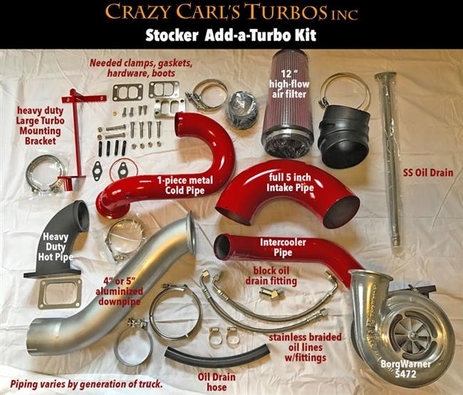 Crazy Carls Turbos >> Crazy Carls Turbos 99-02 Stock 2/3 Twin Kit