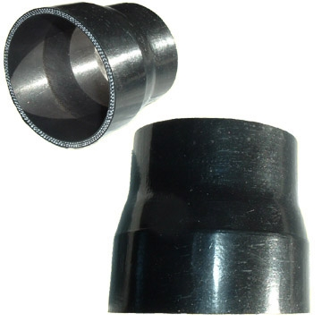 """Crazy Carls Turbos >> 4"""" to 3"""" Reducer Boot"""