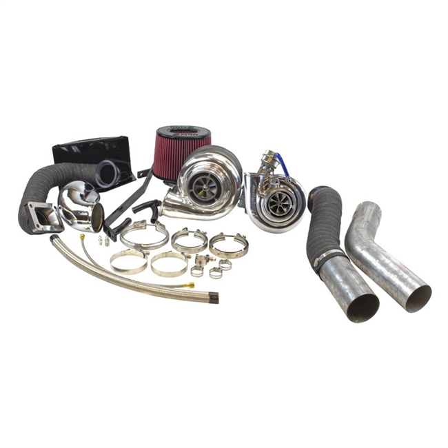 Crazy Carls Turbos >> Dodge Cummins 2nd Gen Race Compound Turbo Kit (1994-2002)